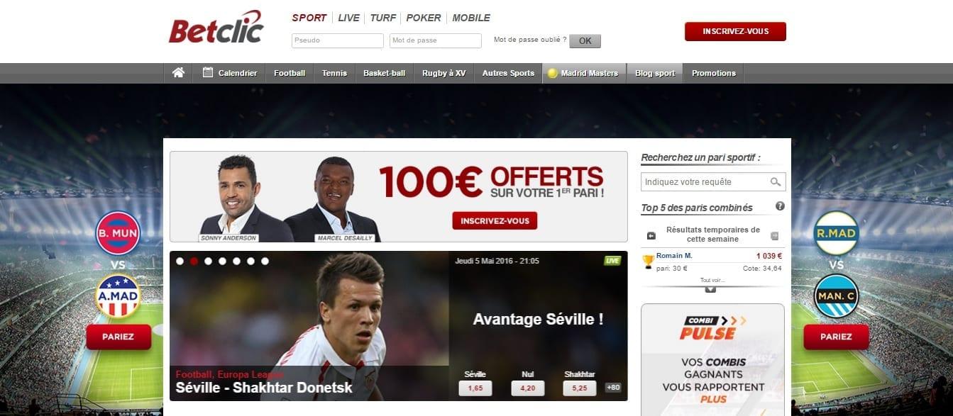 Betclic : leader en France