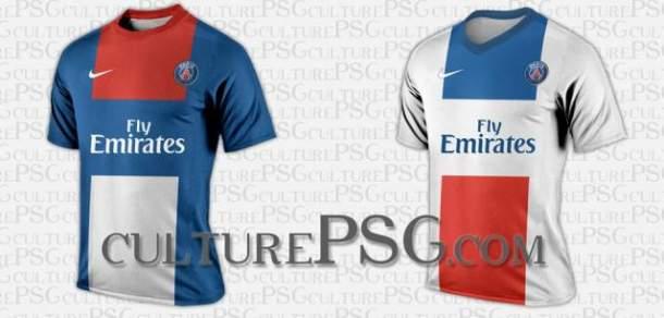 Nouveaux maillots PSG