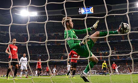Manchester U vs Real Madrid