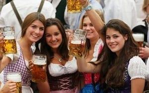 La bière coule à flots pour les supporters du bayern