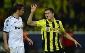 Lewandowski quadruplé face au real