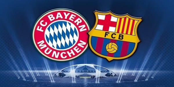 Pronostic LDC Bayern Barcelone