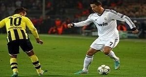 Ronaldo face à Götze