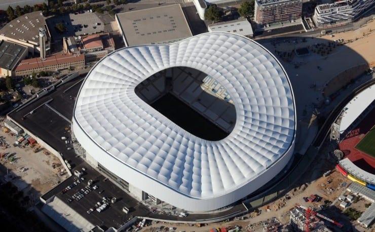 Stade Vélodrome à Marseille en 2016
