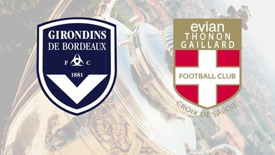 Finale coupe de France Bordeaux Evian