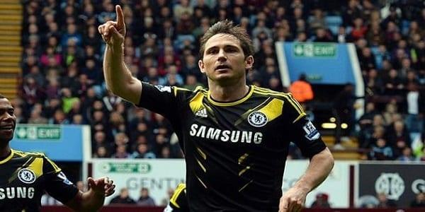 Lampard buteur face à Aston Villa