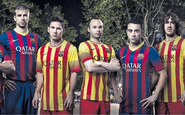 Maillots 2013 2014 FC Barcelone