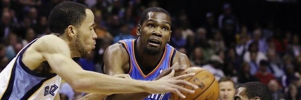 NBA Playoffs 2013: Thunder-Grizzlies