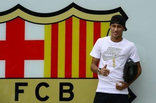 Neymar à Barcelone