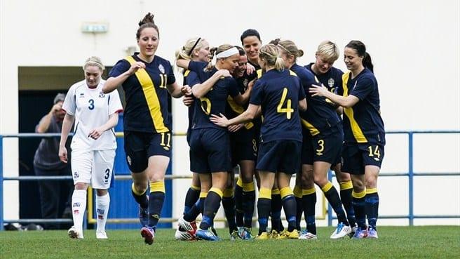 Suède à l'Euro 2013