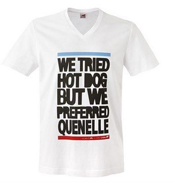 T Shirt quenelle OL