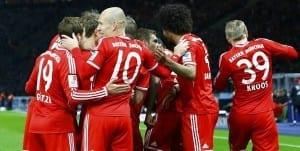 Bayern munich sur le toit de l'europe