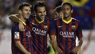 Messi Fabregas Neymar
