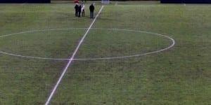La pelouse du Stade Chaban-Delmas