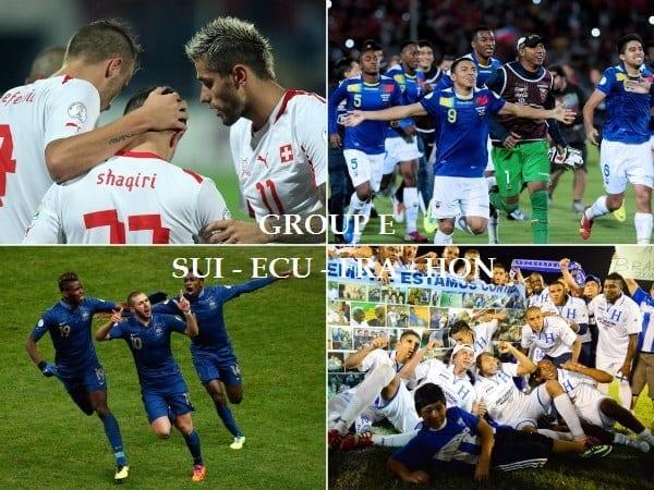 R sultats classement et r sum du groupe e coupe du monde 2014 - Classement coupe du monde 2014 ...