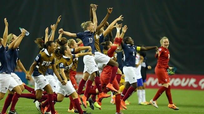 La joie des françaises