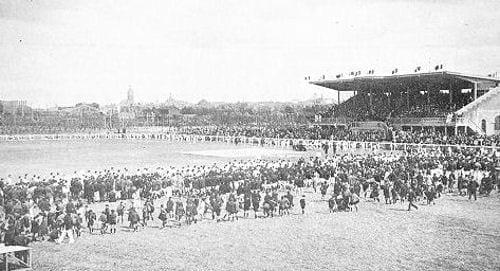 Le stade Bollaert en 1934