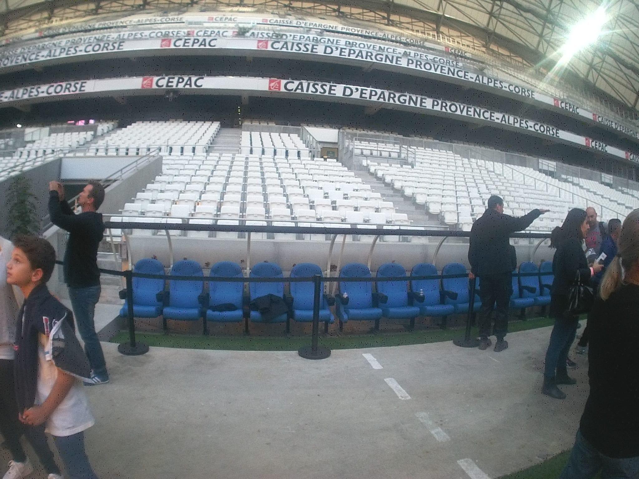 Visite Du Nouveau Stade Vélodrome