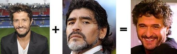 Lizarazu Maradona Levi