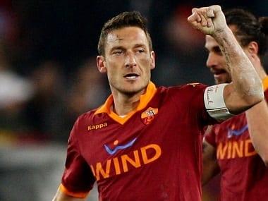 Francesco Totti capitaine