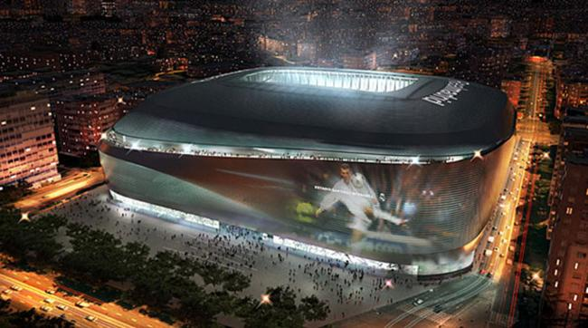 Probable futur stade de Santiago Bernadeu