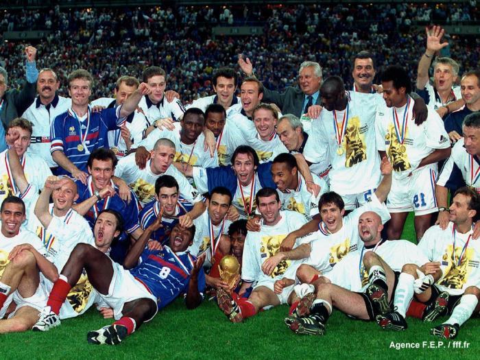 France 98 toute une poque la retraite ou presque - Joueur coupe du monde 98 ...