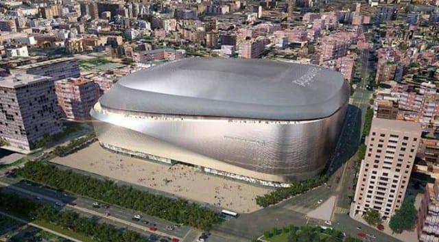 Le futur stade de Santiago Bernabeu