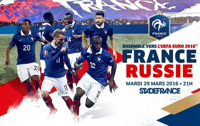 Pronostic France Russie