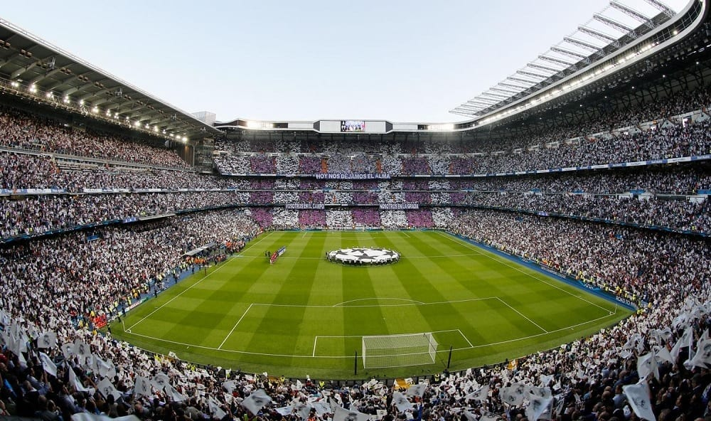 Real Madrid vs Wolfsbourg à Santiago Bernabéu
