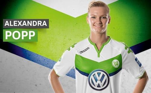 Alexandra Popp - Wolfsburg