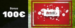 Betclic - Bonus de bienvenue : 100€