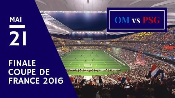 Pronostic OM vs PSG pour la Coupe de France 2016