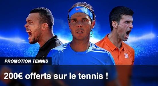 Promotion Tennis France Pari