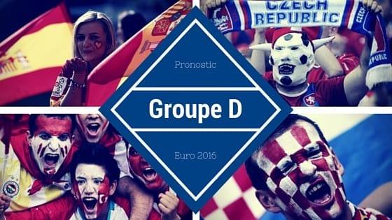 Pronostic Groupe D - Euro 2016