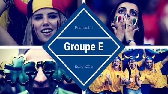 Pronostic Groupe E - Euro 2016