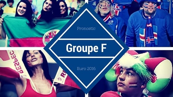 Pronostic Groupe F - Euro 2016