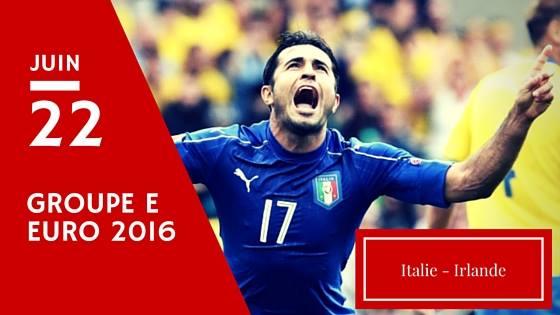 Pronostic Italie - Irlande