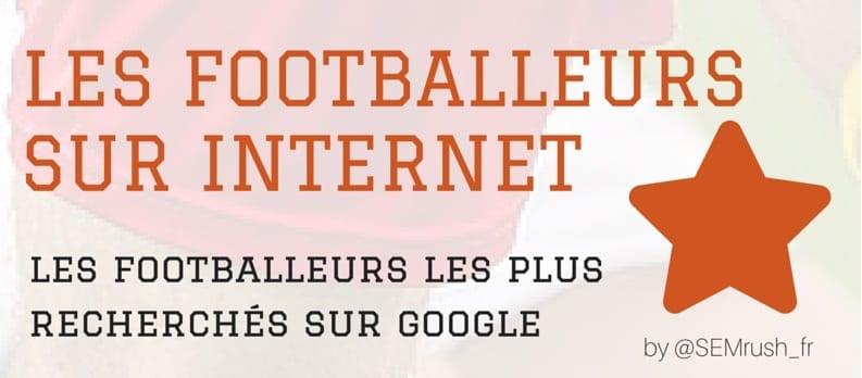 Top 10 des footballeurs sur Internet