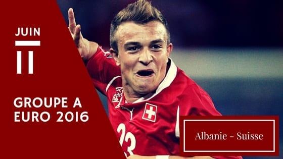 Pronostic Albanie Suisse