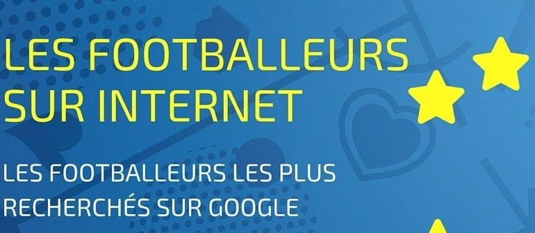 Footballeurs recherchés sur Internet