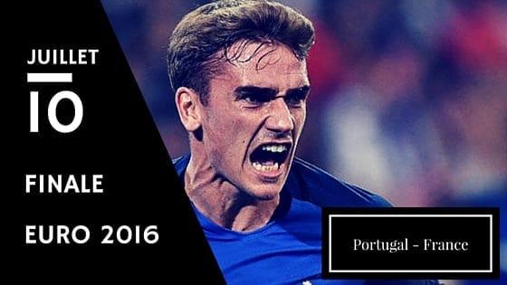 Pronostic Portugal France - Finale Euro 2016