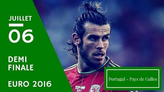 Pronostic Portugal Pays de Galles Euro 2016