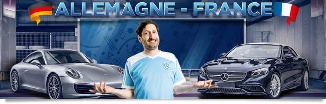 Remporter une voiture allemande pour l'Euro 2016