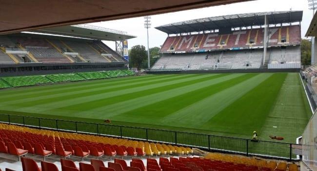 Pelouse du FC Metz : le stade Saint Symphorien