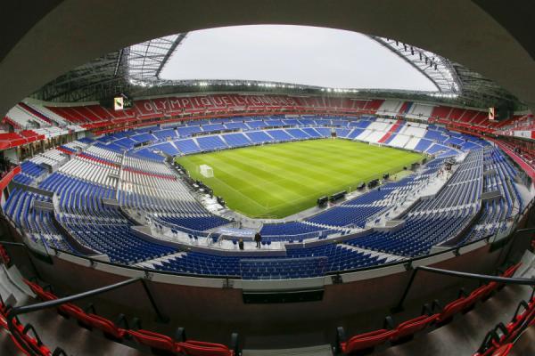 Parc OL : stade de l'Olympique Lyonnais