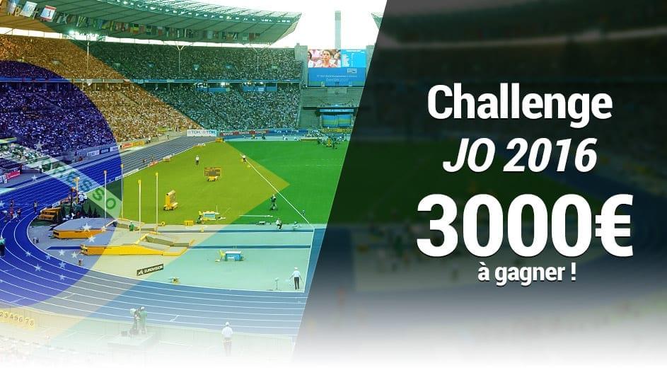 Challenge 3000€ sur France Pari