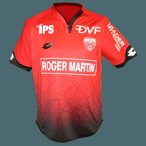 Maillot domicile 2016 - 2017 porté par le Dijon FCO
