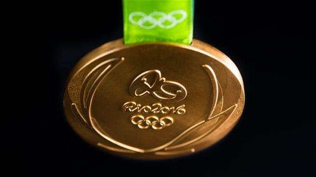 Médaille d'or aux Jeux Olympiques de Rio 2016