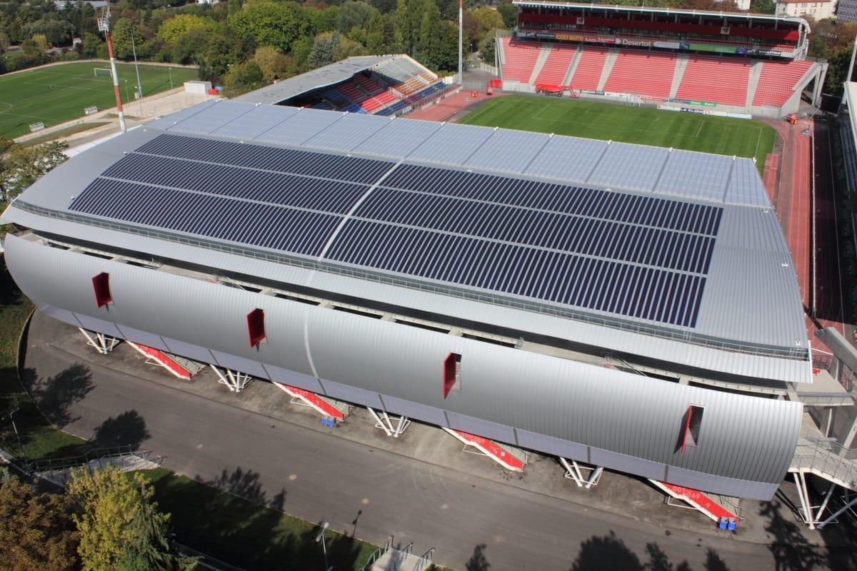 Projet du nouveau stade Gaston-Gérard