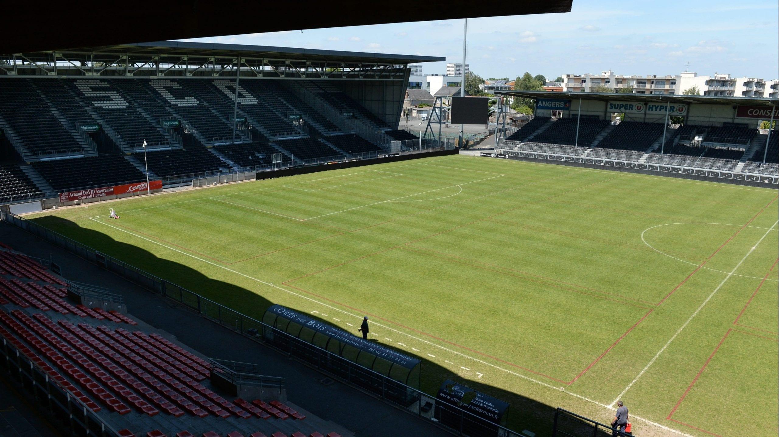 Stade Jean Bouin à Angers